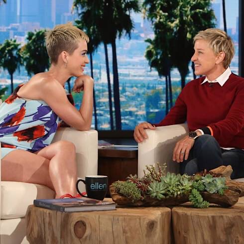 Katy Perry Is Standing By Her Defence Of Embattled Talkshow Host Ellen Degeneres