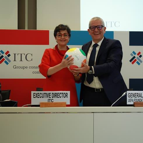 UEFA Foundation Teams Up With The International Trade Centre