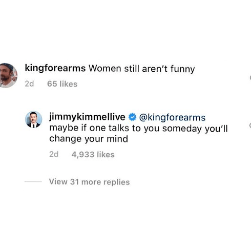 Jimmy Kimmel Shuts Down Sexist Troll Who Criticised Dua Lipa's Performance As Guest Host