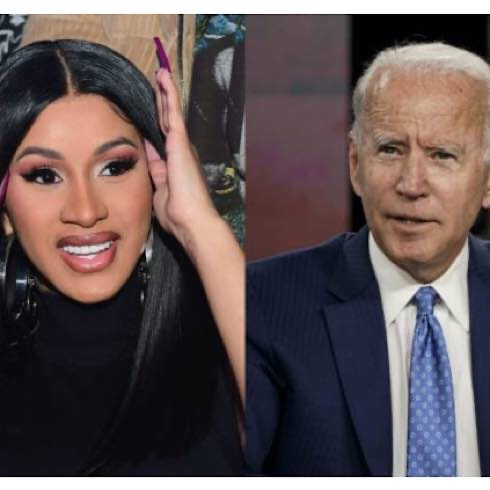 Cardi B And Joe Biden Have Discussed Issues Including Coronavirus, Racial Justice And The Upcoming US Election