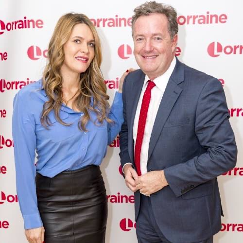 Piers Morgan And Wife Celia Burgled While They Slept As Thieves Invaded Their Bedroom