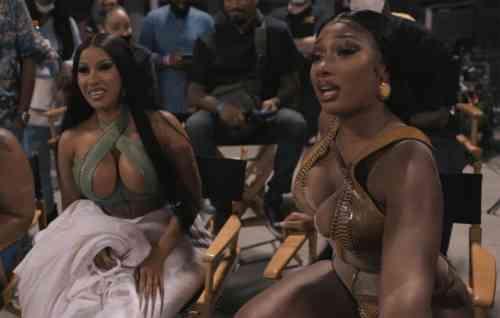 Cardi B shares 'WAP' behind-the-scenes video with Megan Thee Stallion: