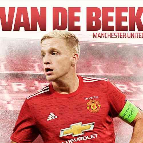 Manchester United Signed Midfielder Donny Van De Beek