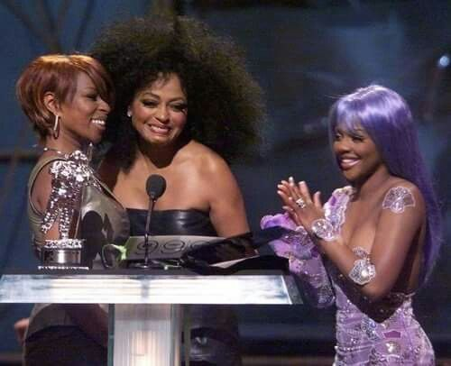 Mary J. Blige angered When Diana Ross Touched Lil Kim's Breast At VMAs