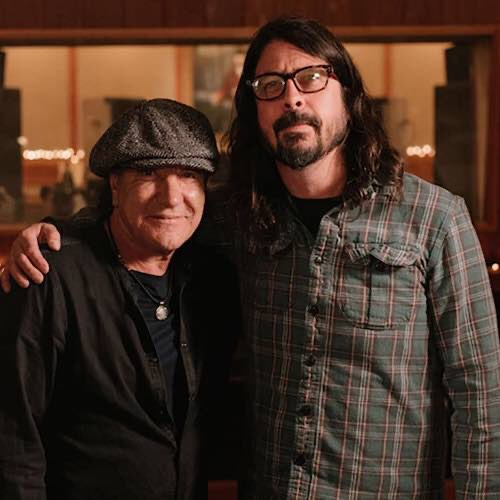 Brian Johnson And Dave Grohl Have A New Documentary Airing On Sky Arts On September 17