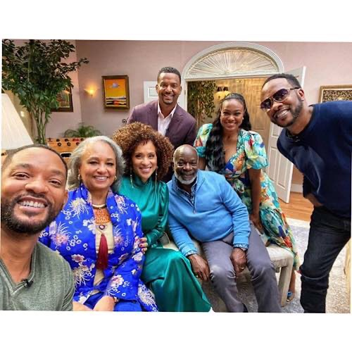 """Original """"Aunt Viv"""" Actress Janet Hubert Snaps It Up With Will Smith For 'Fresh Prince' Reunion Special"""