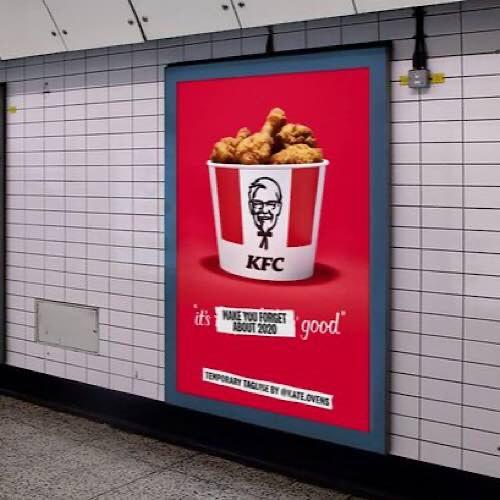 Professor Green Has Created A New Temporary Slogan For KFC