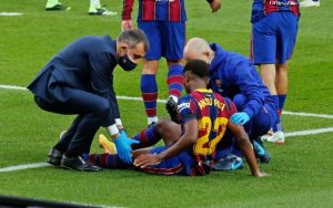 Ansu Fati Out For Four Months Due To An Operation On His Meniscus Injury