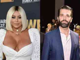Aubrey O'Day Says Trump Jr. Threatened To Release her Naked Photos