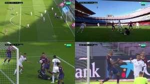Braithwaite Opened The Scoring For Barcelona Against Osasuna