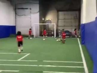 River Pate's Youth Team Pays Tribute To Diego Maradona