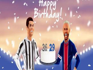 Cristiano Ronaldo And Neymar Both Celebrate Their Birthdays Today