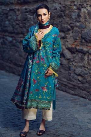 TENA DURRANI BY AL-ZOHAIB LUXURY LAWN COLLECTION-TDLL-16