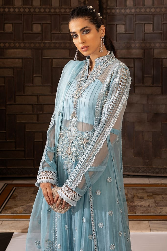MUSHQ | Monsoon Affair Luxury STITCHED collection*20 | ICE CASCADE