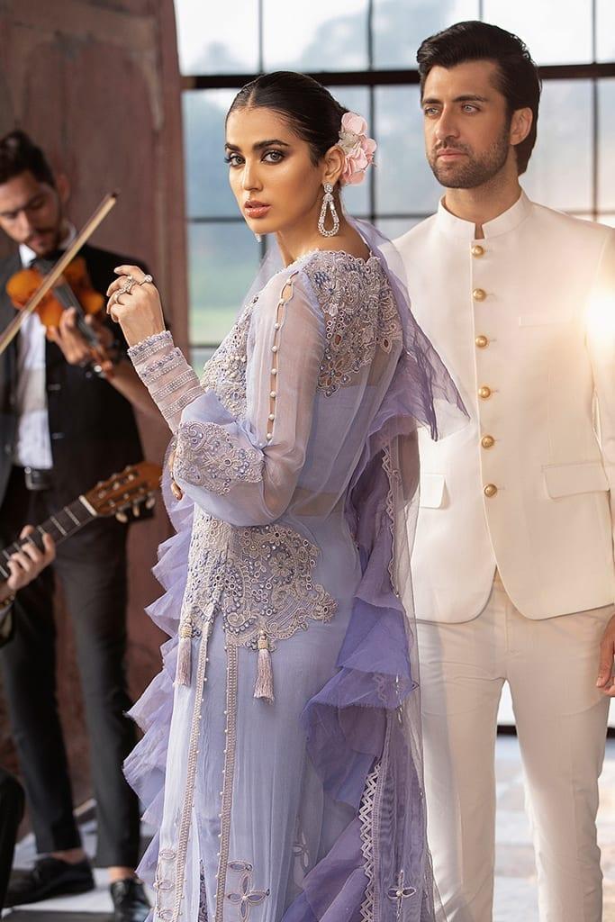 MUSHQ | Monsoon Affair Luxury STITCHED collection*20 | LAVENDER HAZE