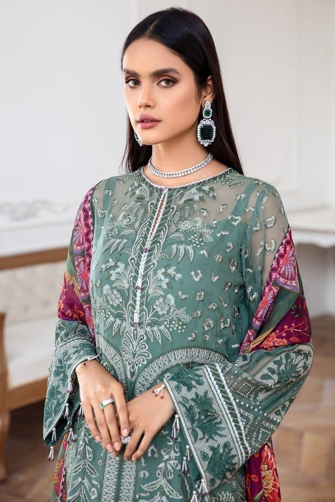 JAZMIN | Mahpare | Luxury Embroidered Stitched Collection | Vasl