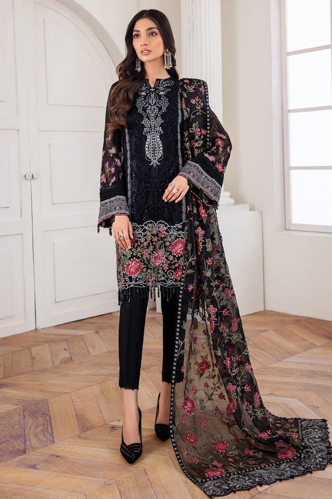 JAZMIN | Mahpare | Luxury Embroidered Stitched Collection | Mehlika