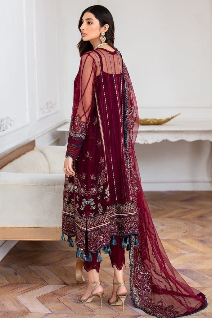 JAZMIN   Mahpare   Luxury Embroidered Stitched Collection   Soulmaz