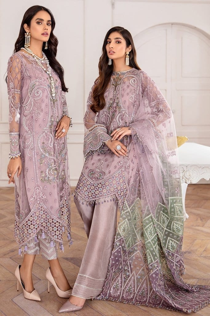 JAZMIN | Mahpare | Luxury Embroidered Stitched Collection | Azel