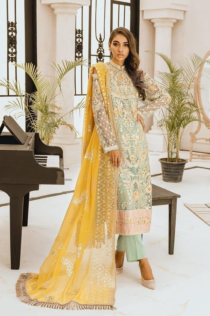 MARYAM N MARIA | FREESIA | Festive Collection | LIGHT WATER | FG-10