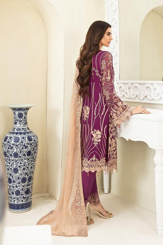 RAMSHA | CHERVAN EMBROIDERED Collection | A-307