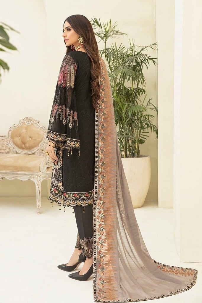 RAMSHA | CHERVAN EMBROIDERED Collection | A-305