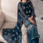 MOTIFZ | EMBROIDERED BEMBERG CHIFFON Collection | CASABLANCA-2650