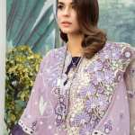 ADAN'S LIBAS   SHIFFLI EMBROIDERED SUMMER Collection   FLORA-SOME