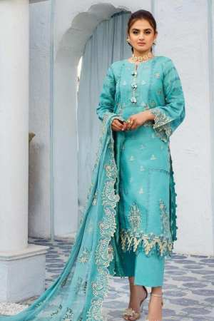 SERENE NORANG | PREMIUM EMBROIDERED Collection | NOOREH | D-07