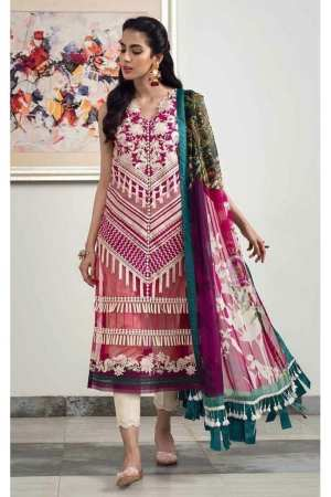ASIFA N NABEEL   LUXURY LAWN Collection   2-H FASCINATION