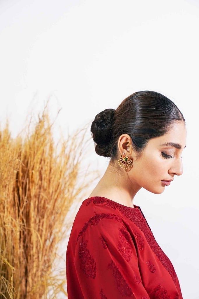 ZARA SHAHJAHAN | Embroidered Lawn Suits | ARJUMAND-B