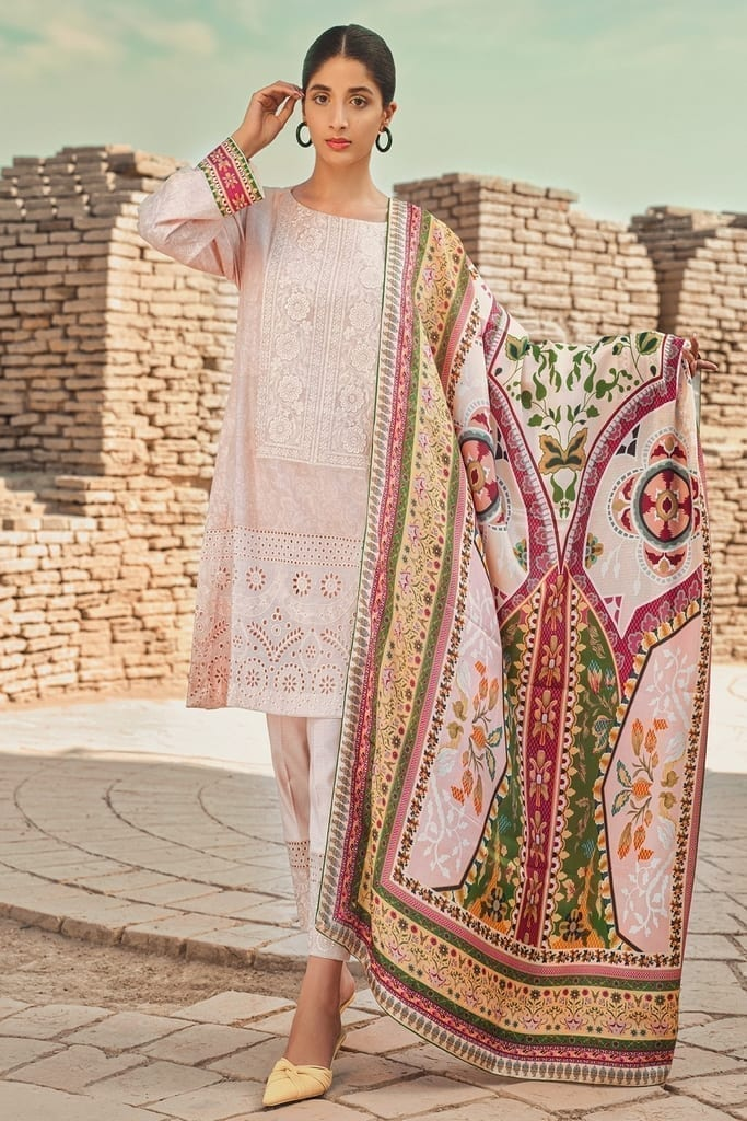 TENA DURRANI   Embroidered Lawn Suits   Bliss