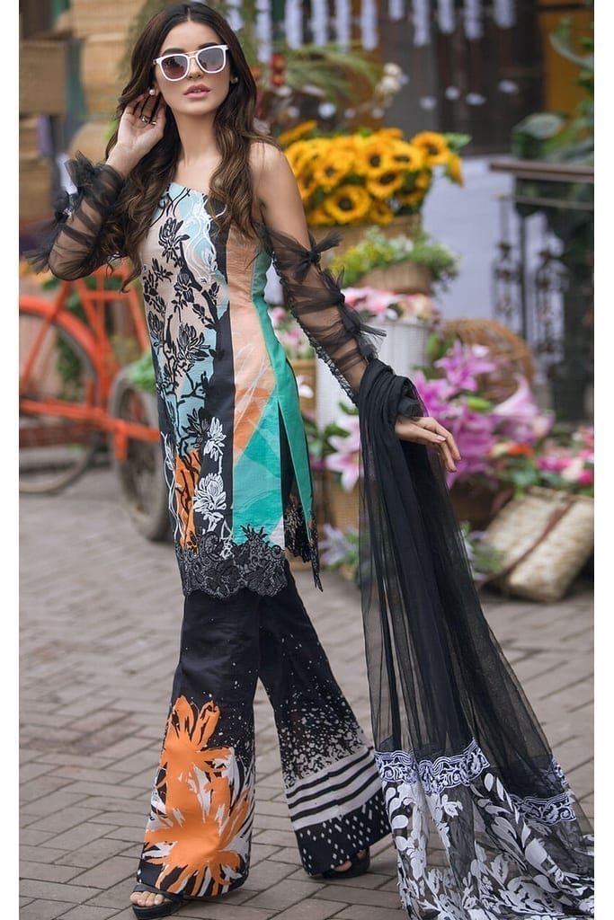 ASIFA N NABEEL | LAWN Collection | Lillynn-LA-11