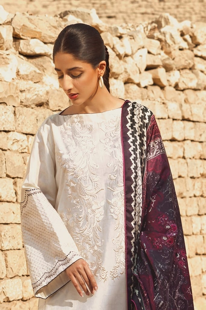 TENA DURRANI | Embroidered Lawn Suits | Port Royale