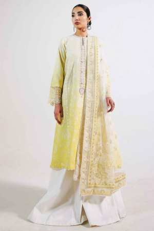 ZARA SHAJAHAN | Embroidered Lawn Suits | ZS21L 18 Rano-B