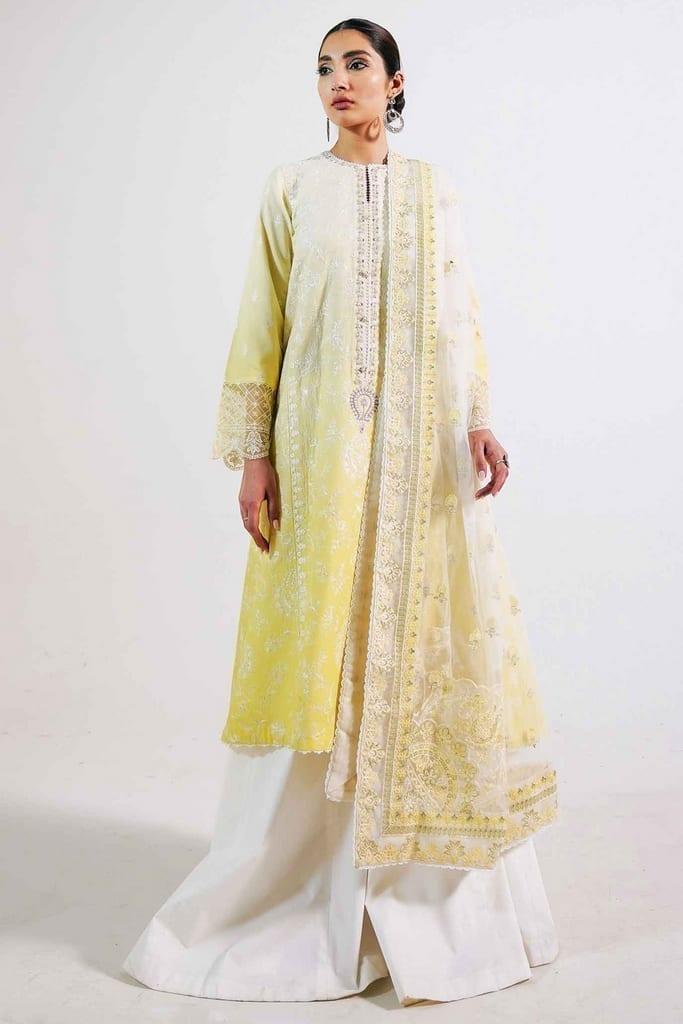 ZARA SHAJAHAN | Embroidered Lawn Suits | ZS21L 18 Rano-B