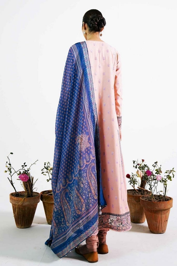 ZARA SHAJAHAN   Embroidered Lawn Suits   ZS21L 09 Sassi-A