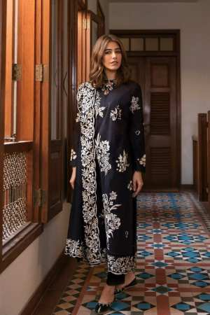 ZAHA LAWN | Embroidered Lawn Suits | ZAVOSH (ZL21-14 A)