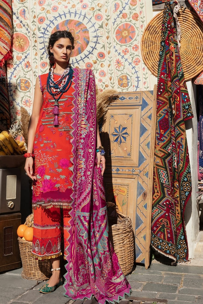 REPUBLIC WOMENWEAR | LUXURY LAWN Collection | NARGIS-A