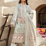 SHIZA HASSAN | LUXURY LAWN COLLECTION 2021 | 1-A AARA