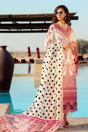 SHIZA HASSAN | LUXURY LAWN COLLECTION 2021 | 5-A PARIZA