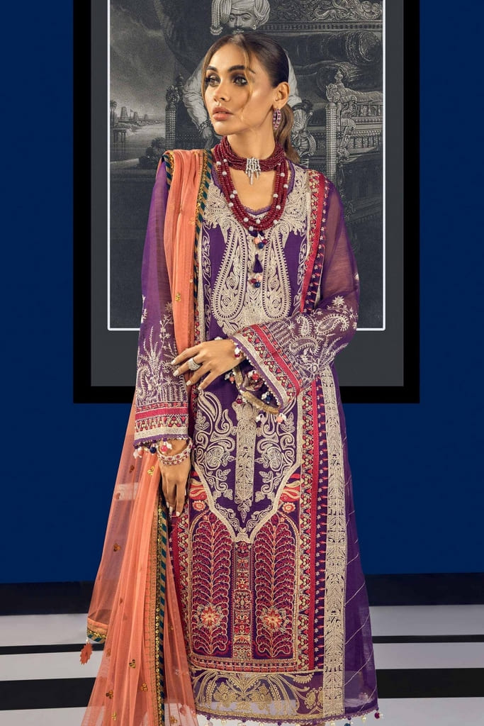 SANA SAFINAZ | MUZLIN FESTIVE Collection | M212-005A-CX