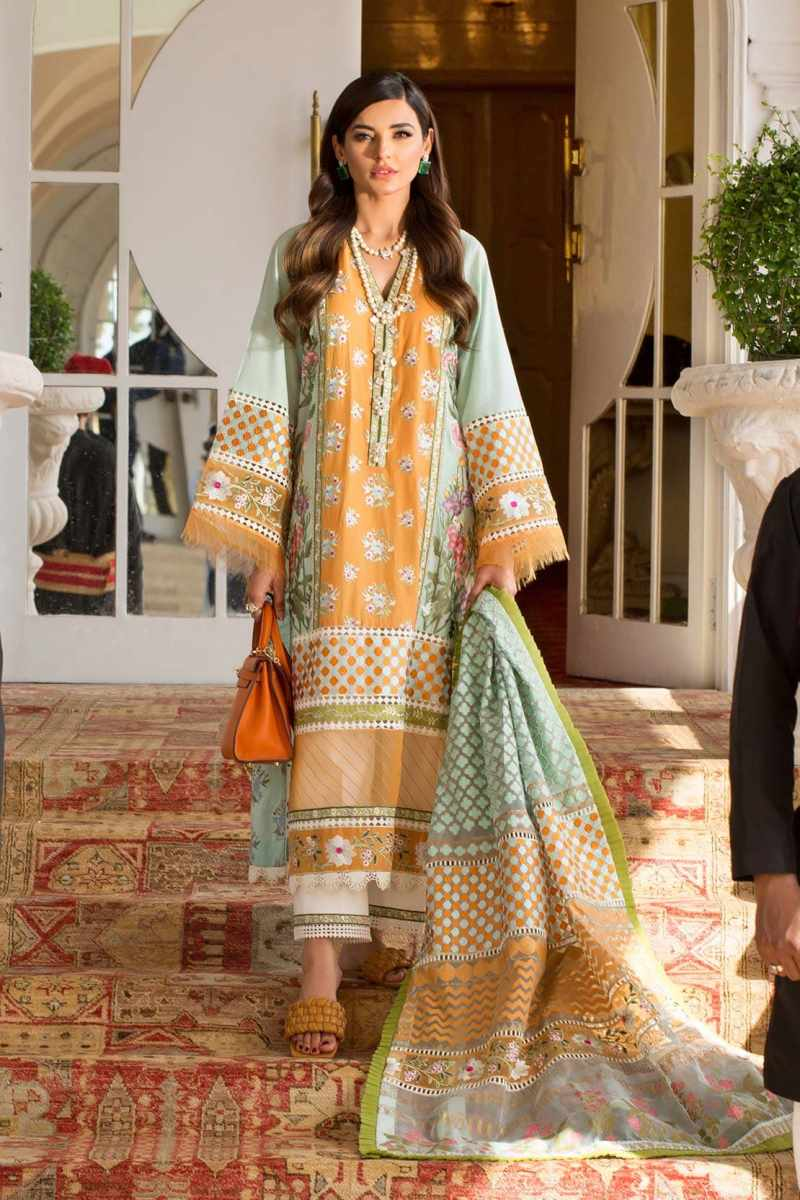 CRIMSON BY SAIRA SHAKIRA | LUXURY SUMMER Collection'21 | 9A MANDARIN A SUNNY AFTERNOON
