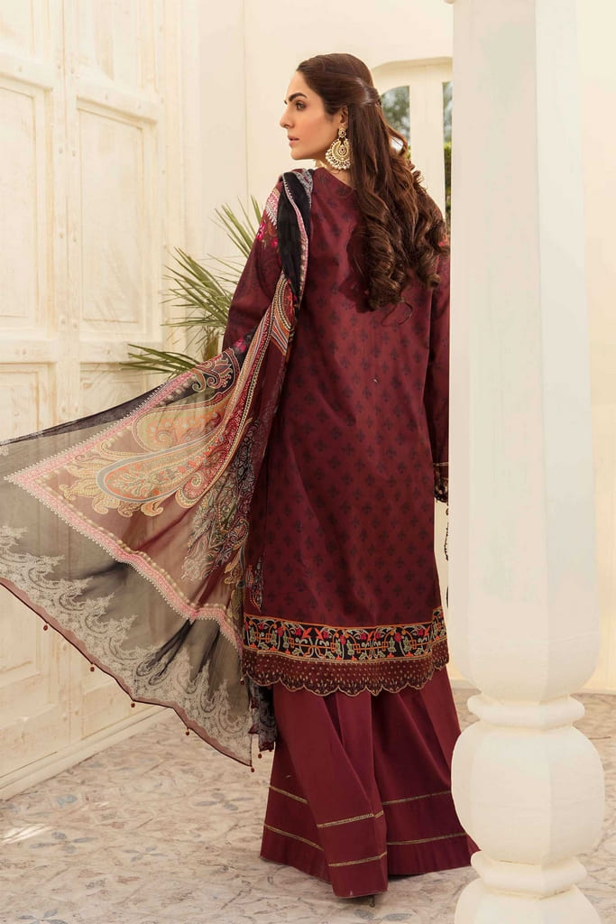 AARYRA   LUXURY LAWN'21 Collection   ARD-402-B