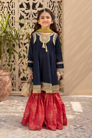 MARIA B | KIDS Collection | Suit Blue MKD-EF21-29