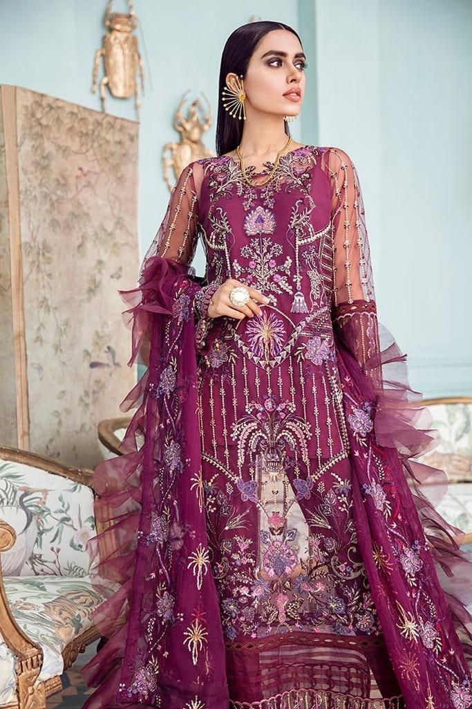 AFROZEH | LA FUCHSIA Collection'21 | Lady Grace