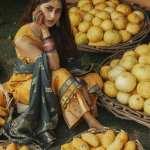 CROSS STITCH | RIM JHIM Collection'21 | ZAIB-UN NISA A