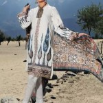 GUL AHMED | EMBROIDERED KHADDAR SHIRT | K-75