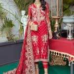 IMROZIA | SOIREE FORMAL Collection'21 | S-1034 Crimson Allure