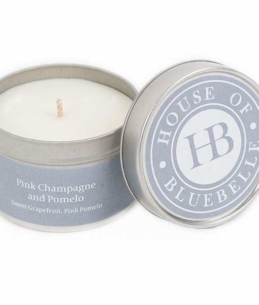 Tin Candles Pink Champagne pomelo